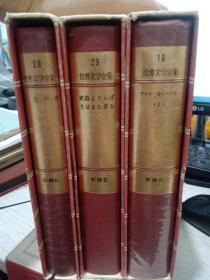 世界文学全集19 28 29