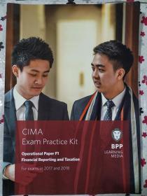 正版 CIMA F1 Financial Reporting and Taxation (Exam Practice Kit) For exams in 2017and2018 BPP LEANING MEDIA  9781509707034