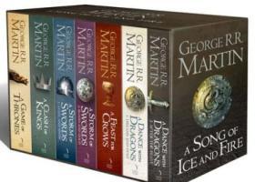 现货 冰与火之歌 英文原版小说 权力的游戏7本盒装全套 A Song of Ice and Fire 列王的纷争