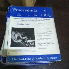 通信与电子工程杂志》1948至1950年间  32本合售