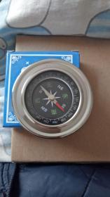 指南针  不锈钢外盒