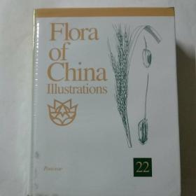 中国植物志 第22卷图集(英文版)