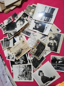 老照片(一堆)有五六十张左右