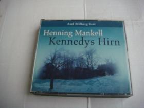Kennedys Hirn 原版 德文碟片  塑料卡盒装 内含5CD+1 DVD+RW