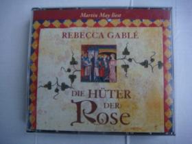 DIE HÜTER DER ROSE  原版 德文碟片  塑料卡盒装 内含6CD