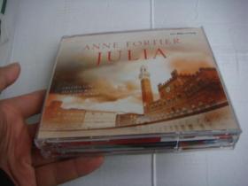 ANNE FORTIER:JULIA 原版 德文碟片  塑料卡盒装 内含4CD