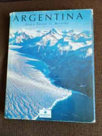 Argentina   英文大画册:阿根廷(小八开,230页)