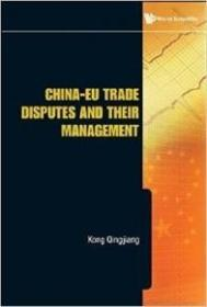 正版现货  China-EU Trade Disputes And Their Management
