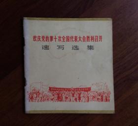 速写选集——欢庆党的第十次全国代表大会胜利召开