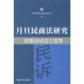 民事诉讼之变革:月旦民商法研究6