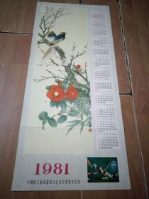 1981年年历.