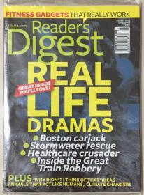 Reader·s digest 读者文摘 2013年 第8期 原版外文英文期刊