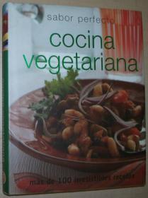 西班牙语原版书 Sabor Perfecto - Cocina Vegetariana (Perfect Cooking) Tapa dura 完美的味道 - 素食蔬菜烹饪 2007 de Parragon (Autor)