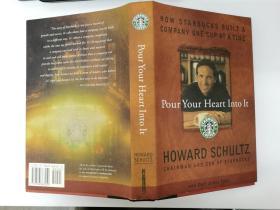 签名本 Pour Your Heart Into It: How Starbucks Built a Company One Cup at a Time Schultz (D6-01-A)