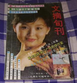 文摘旬刊 1993年合订本 下 九品 包邮挂