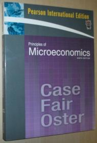 英文原版书 Principles of Microeconomics: International Edition 9 edition by Karl E. Case, Ray C. Fair, Sharon E. Oster