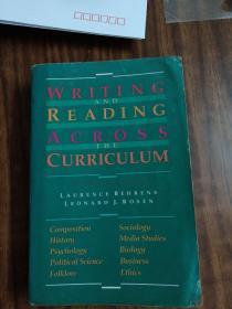 WRITING AND PROSE THE  CURRICULUM(原版英文书)语言学家李如龙钤印