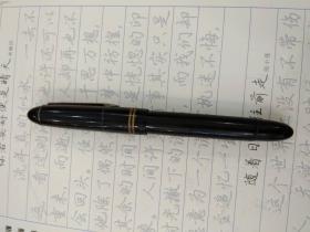 钢笔 14K 金笔 打不上水