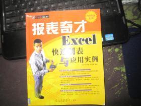 报表奇才:Excel快速制表与应用实例
