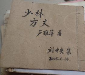 剪报连载--少林方丈(V)