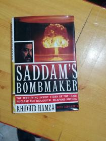 英文原版 SADDAMS BOMBMAKER