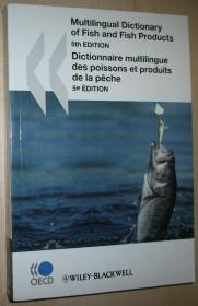 英文原版书 OECD Multilingual Dictionary of Fish and Fish Products 5th edtion 2008 20种语言鱼和鱼产品词汇对照