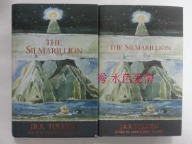 订购The Silmarillion 精灵宝钻 托尔金手绘封面版 手绘版 绝配