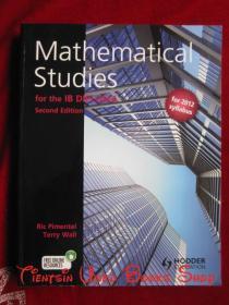 Mathematical Studies for the IB Diploma(Second Edition)为国际文凭的数学学习(第2版 英语原版 平装本)
