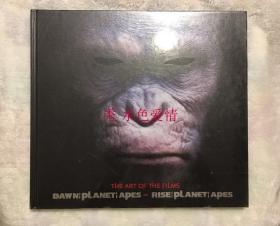 猩球崛起12合集设定集Rise of the Planet of the Apes and Dawn of Planet of the Apes: The Art of the Films