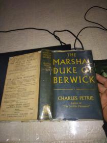 THE MARSHAL DUKE OF BERWICK(32开硬精装)英文原版1953年出版