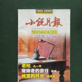小说月报2009年增刋原创长篇小说专号(1)