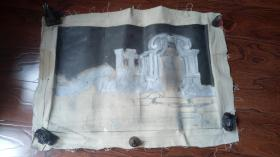 布面油画: 颐和园  长95厘米*65厘米【油画13】年代不详