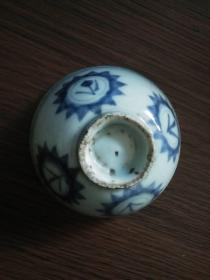 清代青花瓷碗
