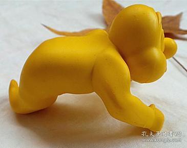 黃色橡膠精靈手辦