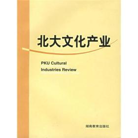 北大文化产业 陈少峰 湖南教育出版社 9787535547552