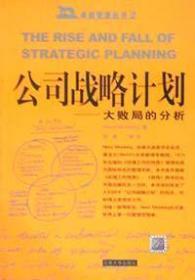 公司战略计划
