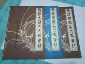 长沙市西区文史资料   (第1 .2. 3辑)   3本合售     书85品如图