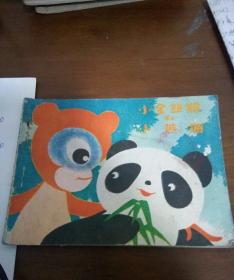 小金丝猴和小熊猫