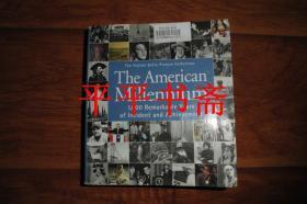 The American Millennium《美国千年》(24开英文原版画册 很厚)