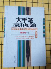 大手笔是怎样炼成的:资深老秘书的公文写作秘笈(理论篇、实践篇,两册合售)