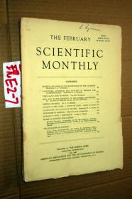 SCIENTIFIC MONTHLY 科学月刊1943年2月 多图片