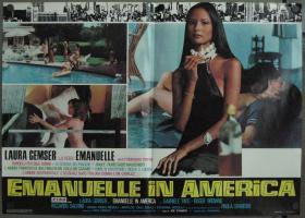 KL 意大利   乔·迪阿马托 艾曼妞在美国 Emanuelle in America (1977) 劳拉·贾姆瑟 Laura Gemser