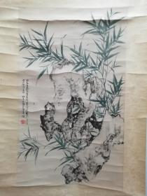 竹石 吴湖帆