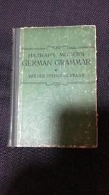 """""""哈腊普""""现代德语语法"""