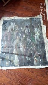 布面油画一大幅 :抽象画   长105厘米*90厘米,年代不详【油画16】