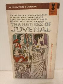 The Satires of Juvenal Hubert Creekmore译本(A Mentor Book 1963年版)(古罗马诗歌)英文原版书