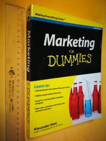 英文原版 大开本 Marketing for Dummies 亚历山大?希亚姆 (Alexander Hiam)