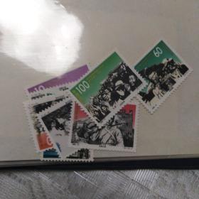 邮票1995—17,抗日战争胜利五十周年,8枚一套全新