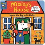 Maisy's House 小鼠波波的家:完全耐久的游戏场景 英文原版平面书