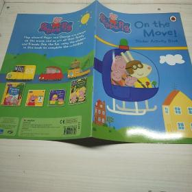 Peppa Pig: On the Move! Sticker Activity Book  粉红猪小妹:在移动活动贴纸书